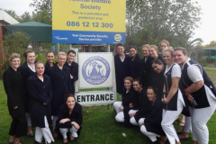 The Isa Carstens Academy students visited the Animal welfare in Stellenbosch. Charity begins at home. Caring for our four legged friends is one of the many charities ICA students supports.